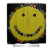 Beer Happy Shower Curtain