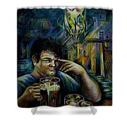Beer Of Prague Shower Curtain