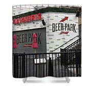 Beer Park Shower Curtain