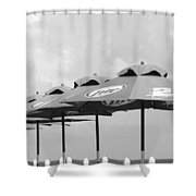 Beer Unbrellas Shower Curtain