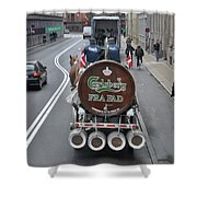Beer Wagon Shower Curtain