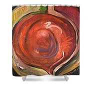 Beet It Shower Curtain