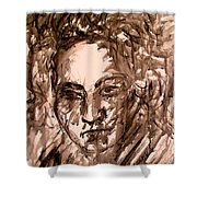Beethoven Energy Stage One Shower Curtain
