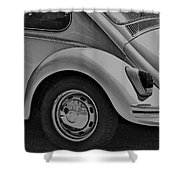 Beetle Art Shower Curtain