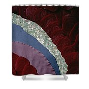 Beets' Waves Shower Curtain