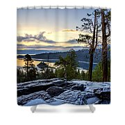 Before Sunrise Shower Curtain