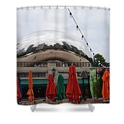 Before The Crowds Shower Curtain