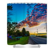 Before The Lunar Eclipse 2 Shower Curtain