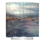 Before The Mountains Were Born Shower Curtain