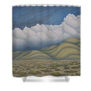 Before The Rain Shower Curtain