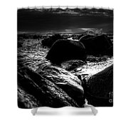 Before The Storm - Seascape Shower Curtain