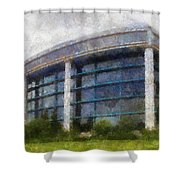 Before The Storm Chicago Shedd Aquarium Northside Pa 02 Shower Curtain