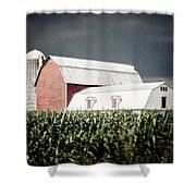 Before The Storm Shower Curtain by Lisa Russo