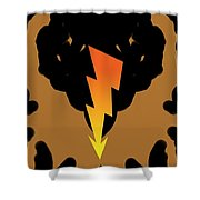 Before The Thunder Comes Down... Shower Curtain