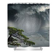 Before Thunderstorm Shower Curtain