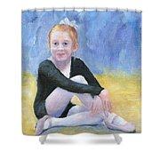 Beginning Ballet Shower Curtain