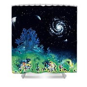 Beginning Of The Great Voyage Shower Curtain