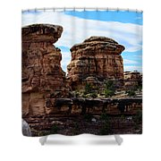 Beginning Of The Slick Rock Trail Shower Curtain