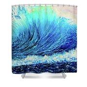 Behemoth Wave Shower Curtain