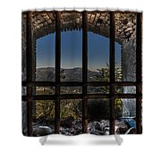 Behind Bars - Dietro Le Sbarre Shower Curtain by Enrico Pelos