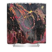 Life Beyond Darkness Shower Curtain