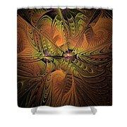 Behold A Universe - Fractal Art Shower Curtain