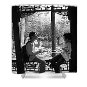 Beijing City 14 Shower Curtain