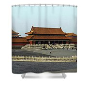 Beijing City 28 Shower Curtain