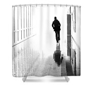 Being Alone Doesnt Mean Youre Free Shower Curtain