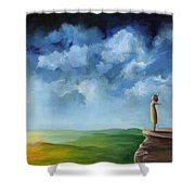 Being Me Shower Curtain