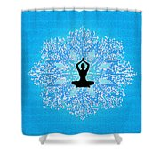 Being Ordinary Shower Curtain
