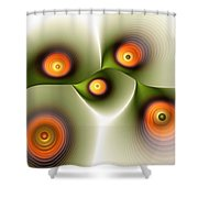 Being Smooth Shower Curtain