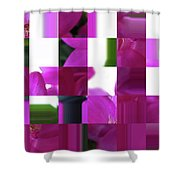 Being Square  Shower Curtain