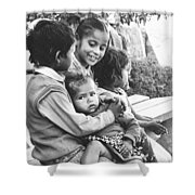 Being Together Is Life Shower Curtain