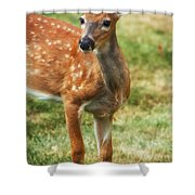Being Young Shower Curtain