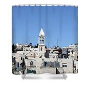 Beit Jala Christian Town Shower Curtain