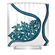 Beit Nest Shower Curtain