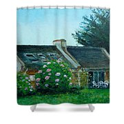 Bel-ile-en-mer Shower Curtain