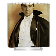 Bela Lugosi As Dracula Shower Curtain