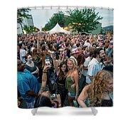 Bele Chere Festival Crowd Shower Curtain