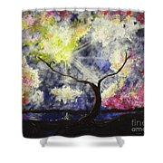 Beleaf Dove House Shower Curtain