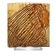 Beleif - Tile Shower Curtain
