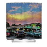 Belew's Dairy Bar Shower Curtain