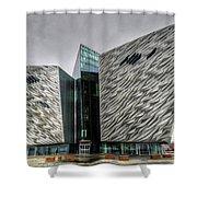 Belfast Northern Ireland United Kingdom Uk Shower Curtain