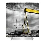 Belfast Shipyard 2 Shower Curtain