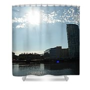 Belfast Waterfront Shower Curtain