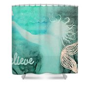 Believe In Fairies Shower Curtain