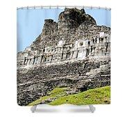 Belize Mayan Ruins  Shower Curtain