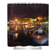 Belizean Night  Shower Curtain
