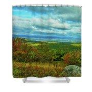 Belknap View Shower Curtain